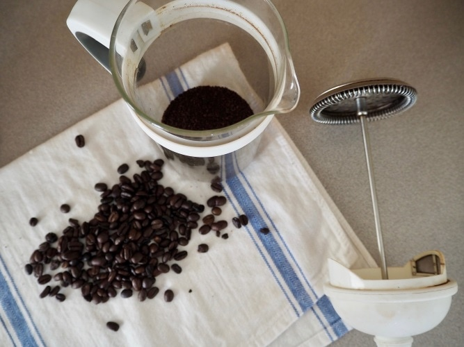 A close look at the french press