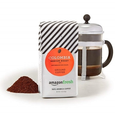 AmazonFresh Colombia Ground Coffee