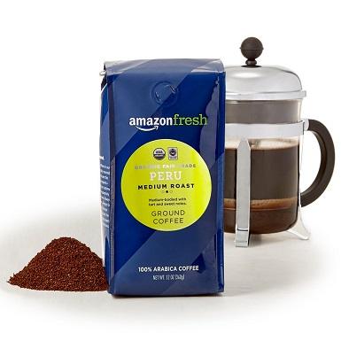 AmazonFresh Organic Fair Trade Peru