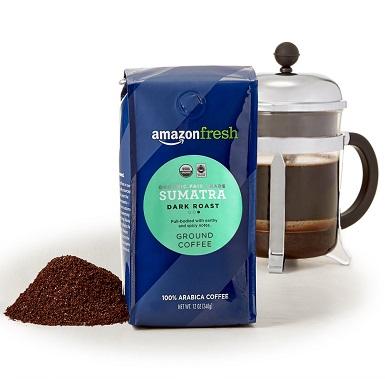 AmazonFresh Organic Fair Trade Sumatra