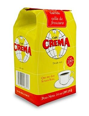 Cafe Crema Ground Puerto Rican