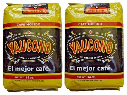 Cafe Yaucono Ground Coffee Puerto Rican