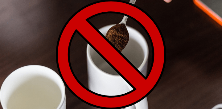 Coffee Banned