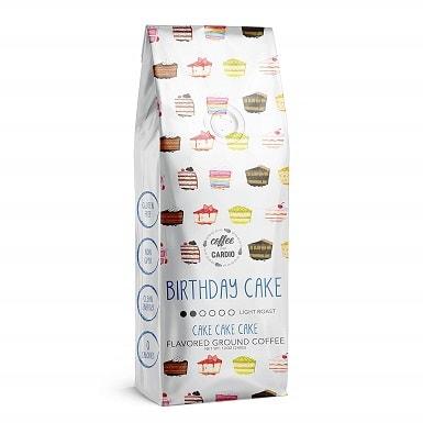 Coffee Over Cardio Birthday Cake Flavored