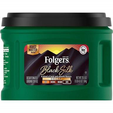 Folgers Decaf Black Silk