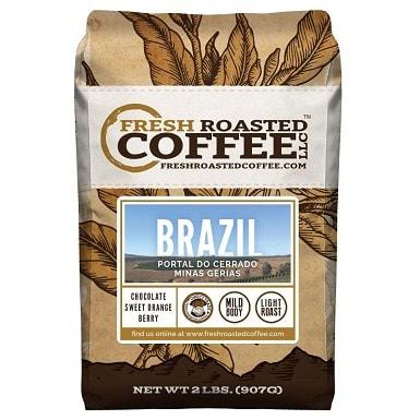 Fresh Roasted Coffee LLC Brazilian Minas Gerais