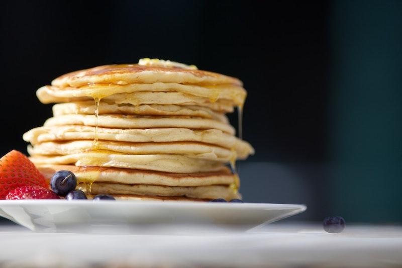 Highlander Grogg coffee flavor pancakes
