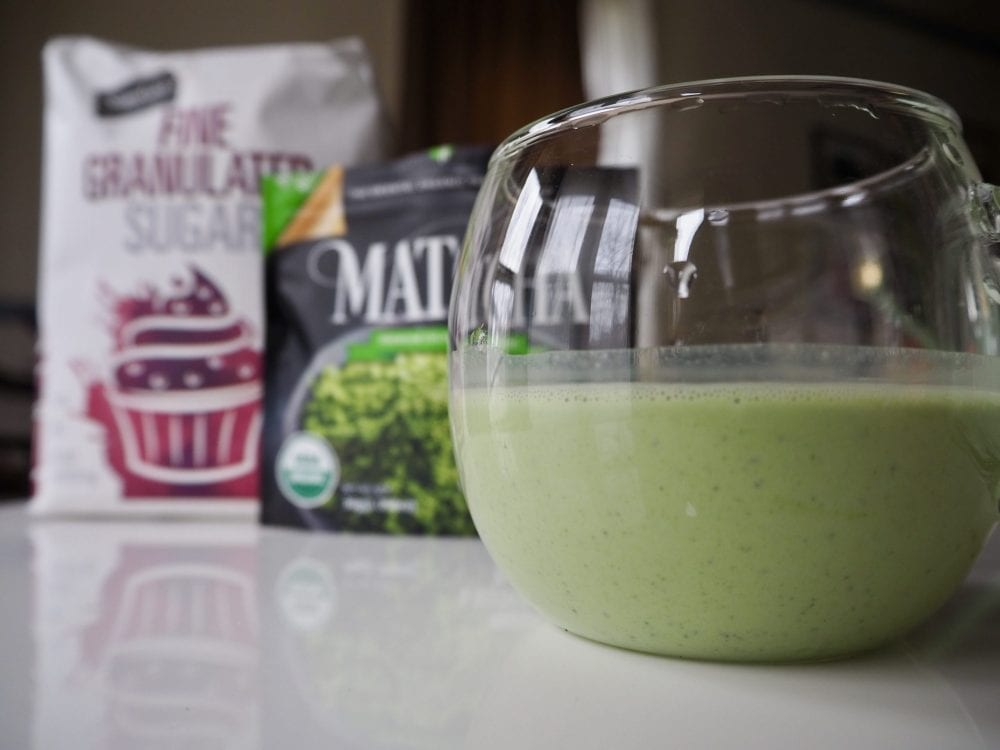 How to make a matcha latte