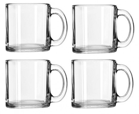 Libbey Crystal Coffee Mug Warm Beverage Mugs