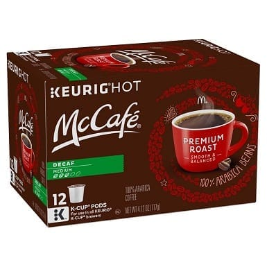 McCafe Premium Medium Roast Decaf