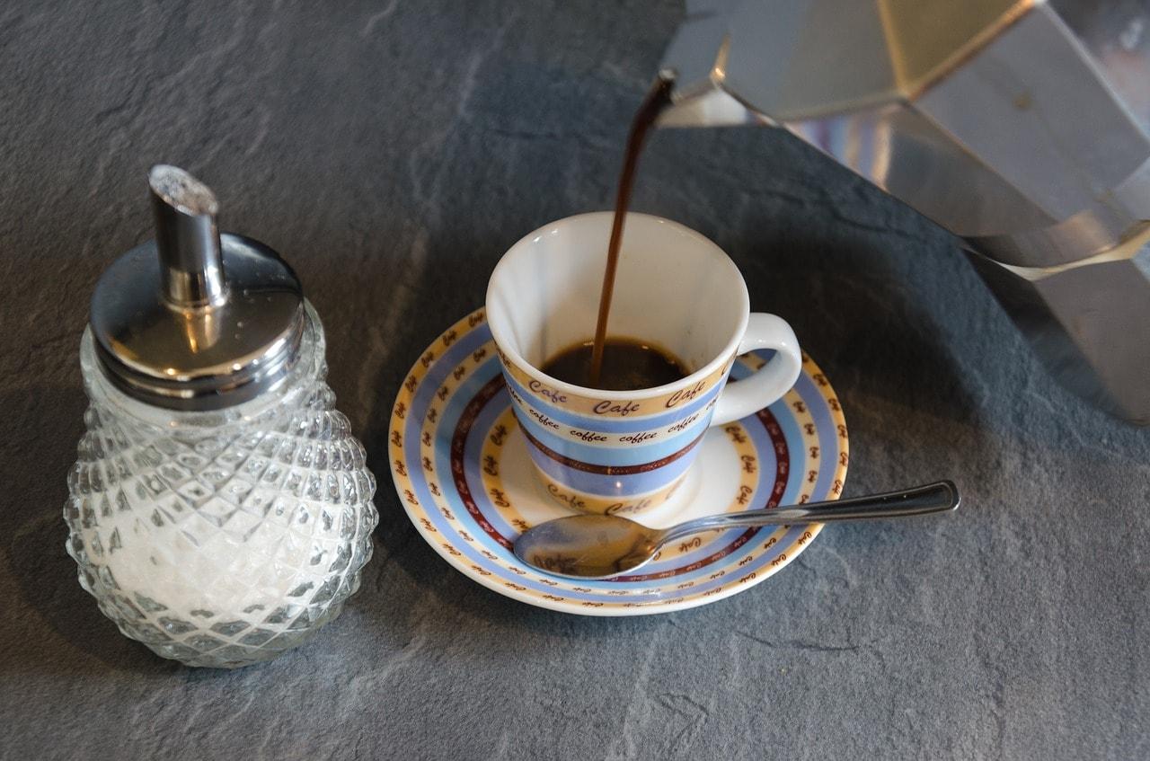 Moka pot coffee