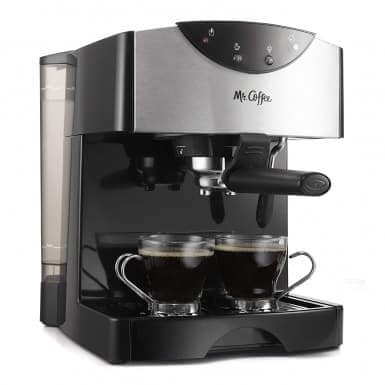 Mr. Coffee Automatic Dual Shot Espresso Cappuccino System