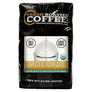 Organic White Knight Light Roast Coffee