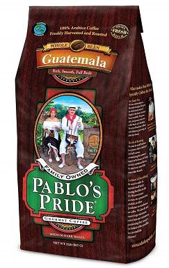 Pablos Pride Gourmet Coffee