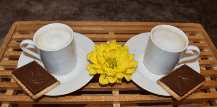 Piccolo Coffee Served