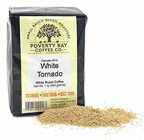 Poverty Bay Coffee, White Tornado