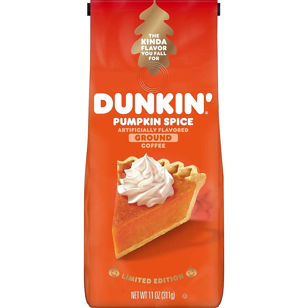 Pumpkin Spice Dunkin' Donuts coffee