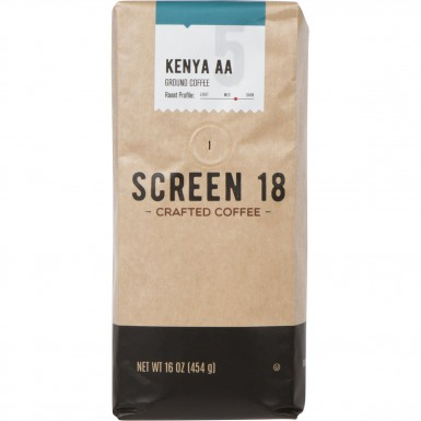 Screen 18 Kenyan AA Single Origin Premium Crafted Coffee