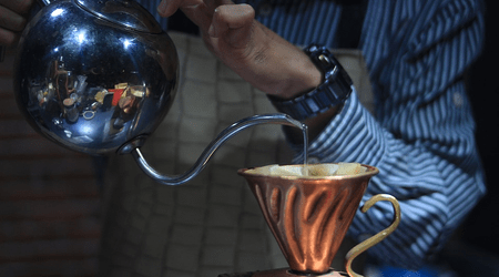 Specialty Pour Over Coffee
