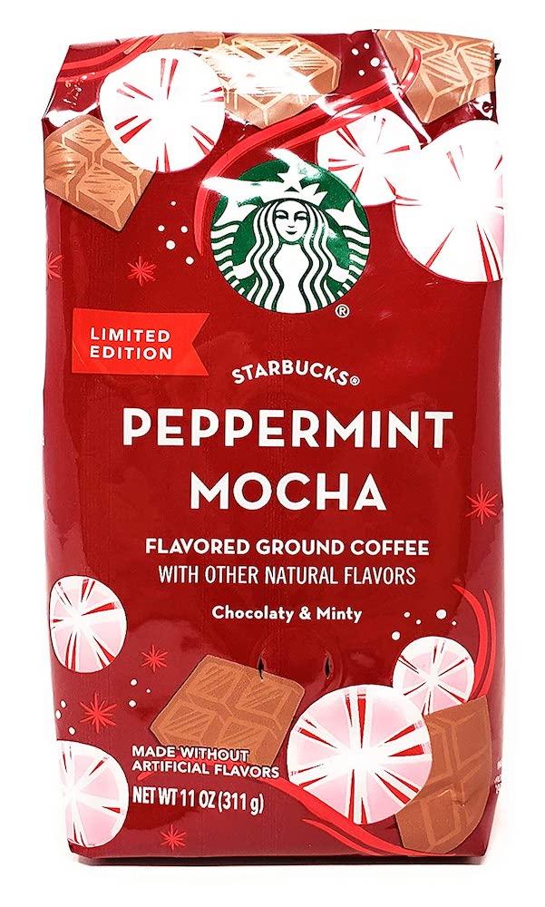 Starbucks Peppermint Mocha coffee