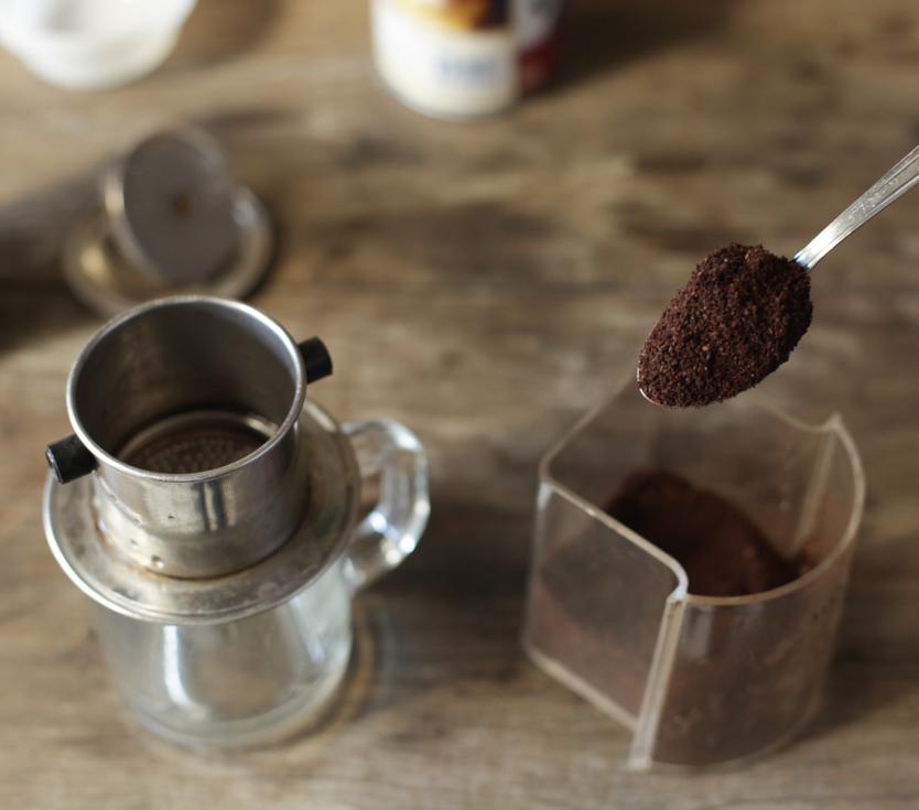 Vietnamese phin coffee maker