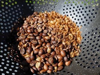 Beans in Colander