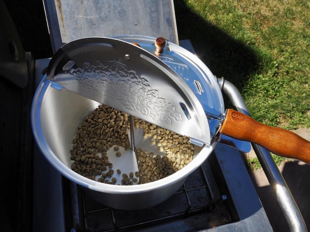 best popcorn popper for coffee roasting