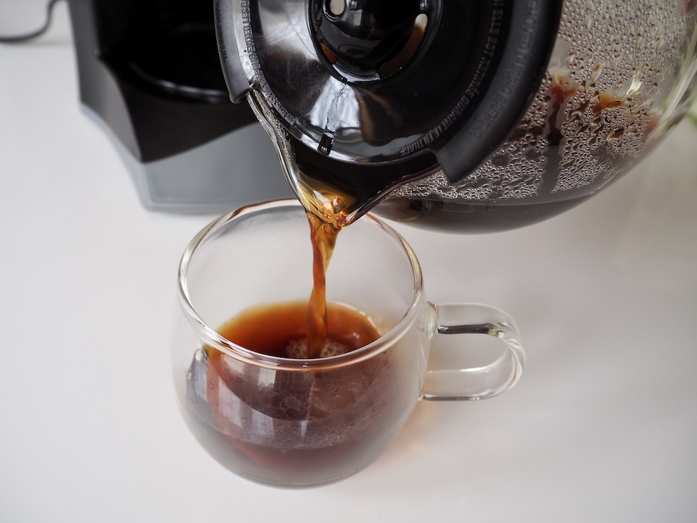black coffee drip machine