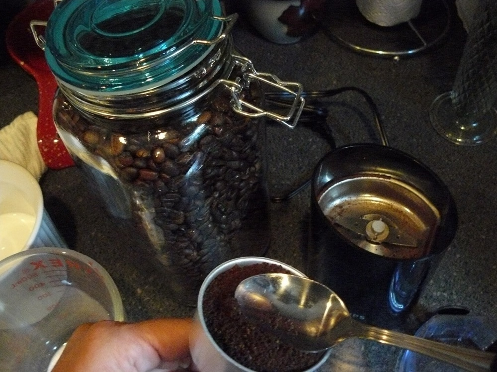 breve coffee at home