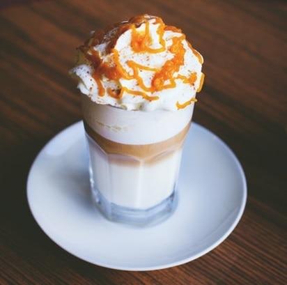 caramel coffee cream