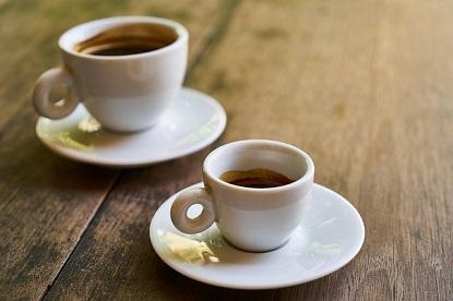 black coffee and espresso