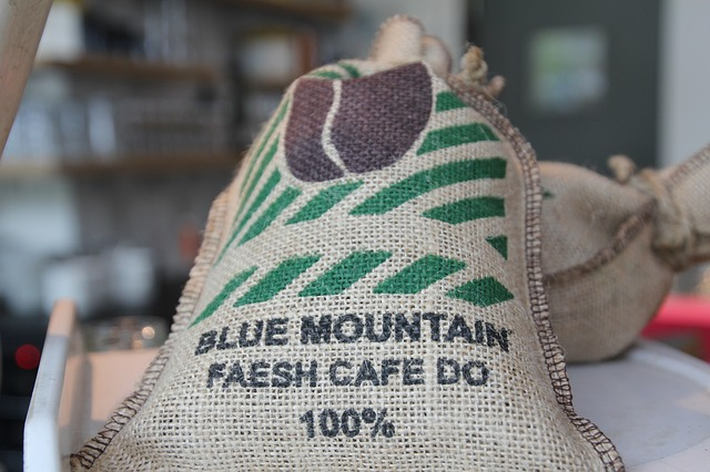 jamaican blue mountain coffee bag