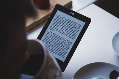 reading kindle book