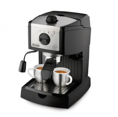 De'Longhi EC155 15 BAR Pump Espresso and Cappuccino Maker Two