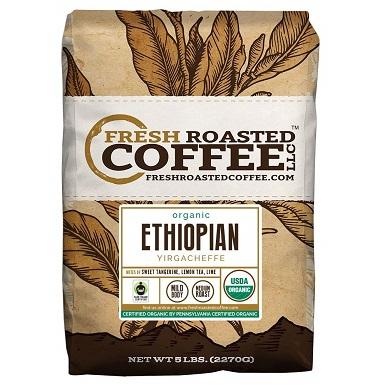 fresh roasted coffee ethiopian