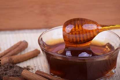 honey dip with cinnamon