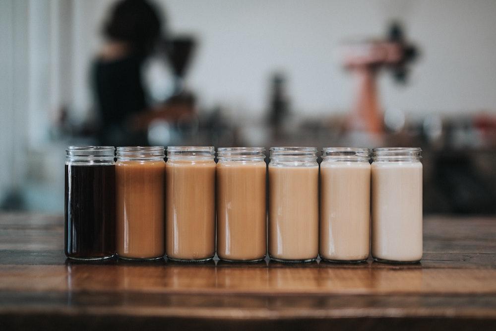 latte shades of milk
