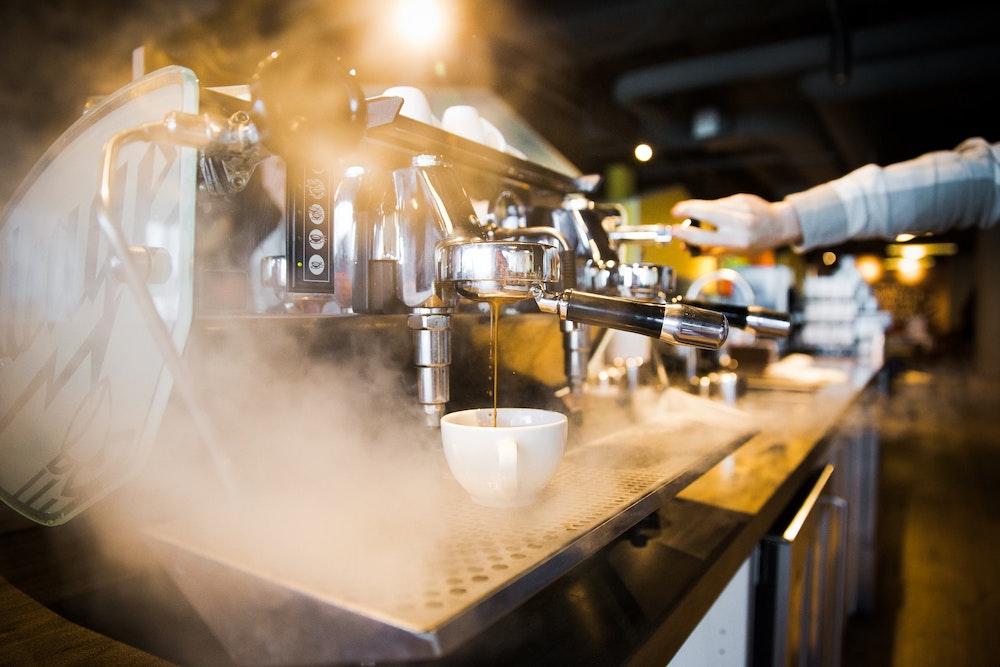 steamy espresso machine