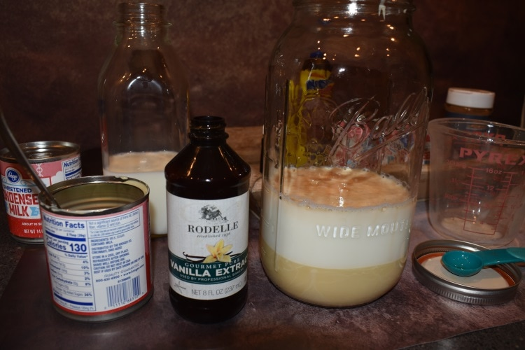 Making sugar-free coffee creamer