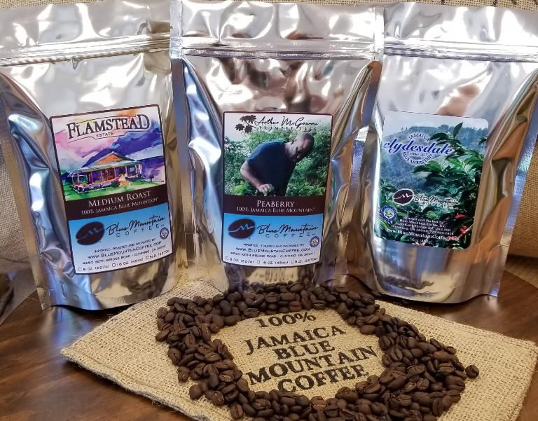 قهوه کوهی آبی جامائیکا