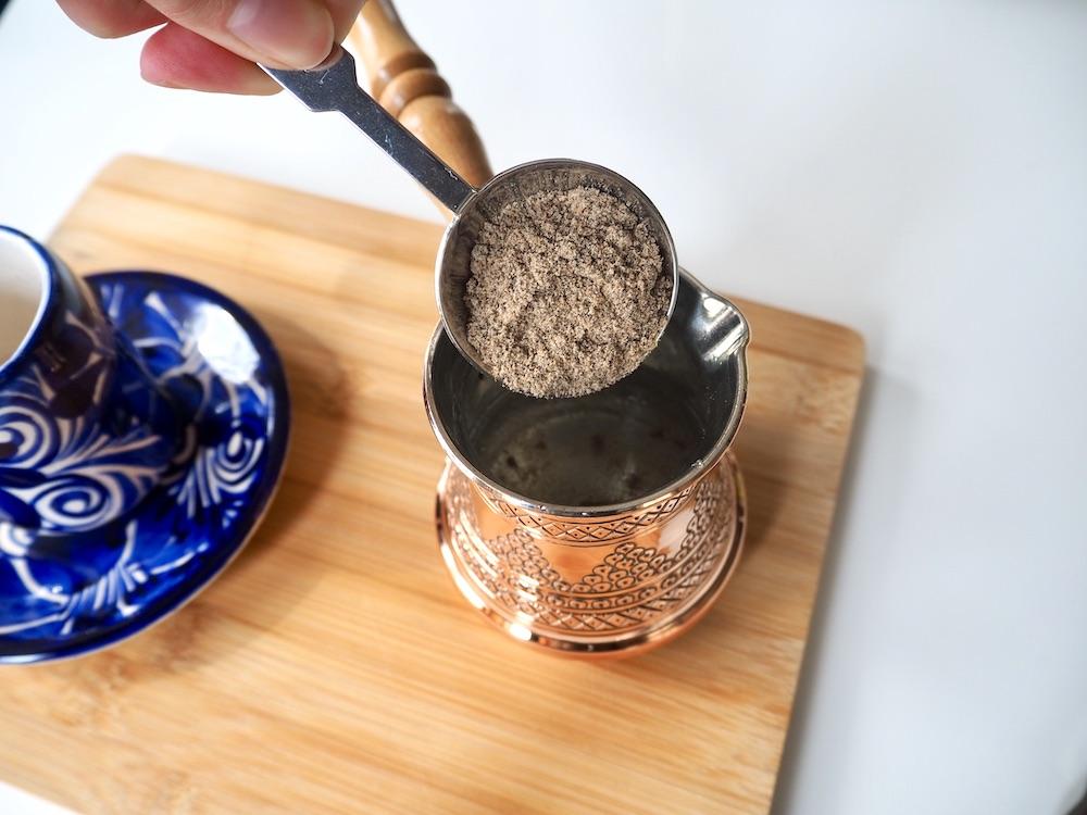 Arabic coffee recipe cardamom