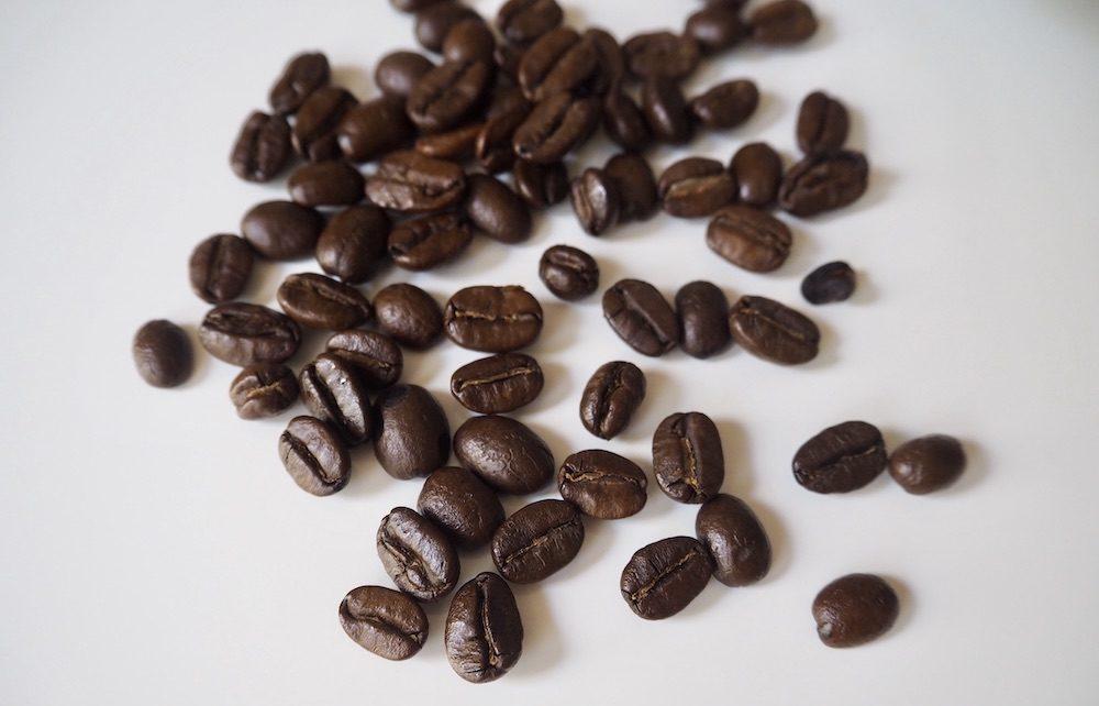 Arabica whole bean coffee