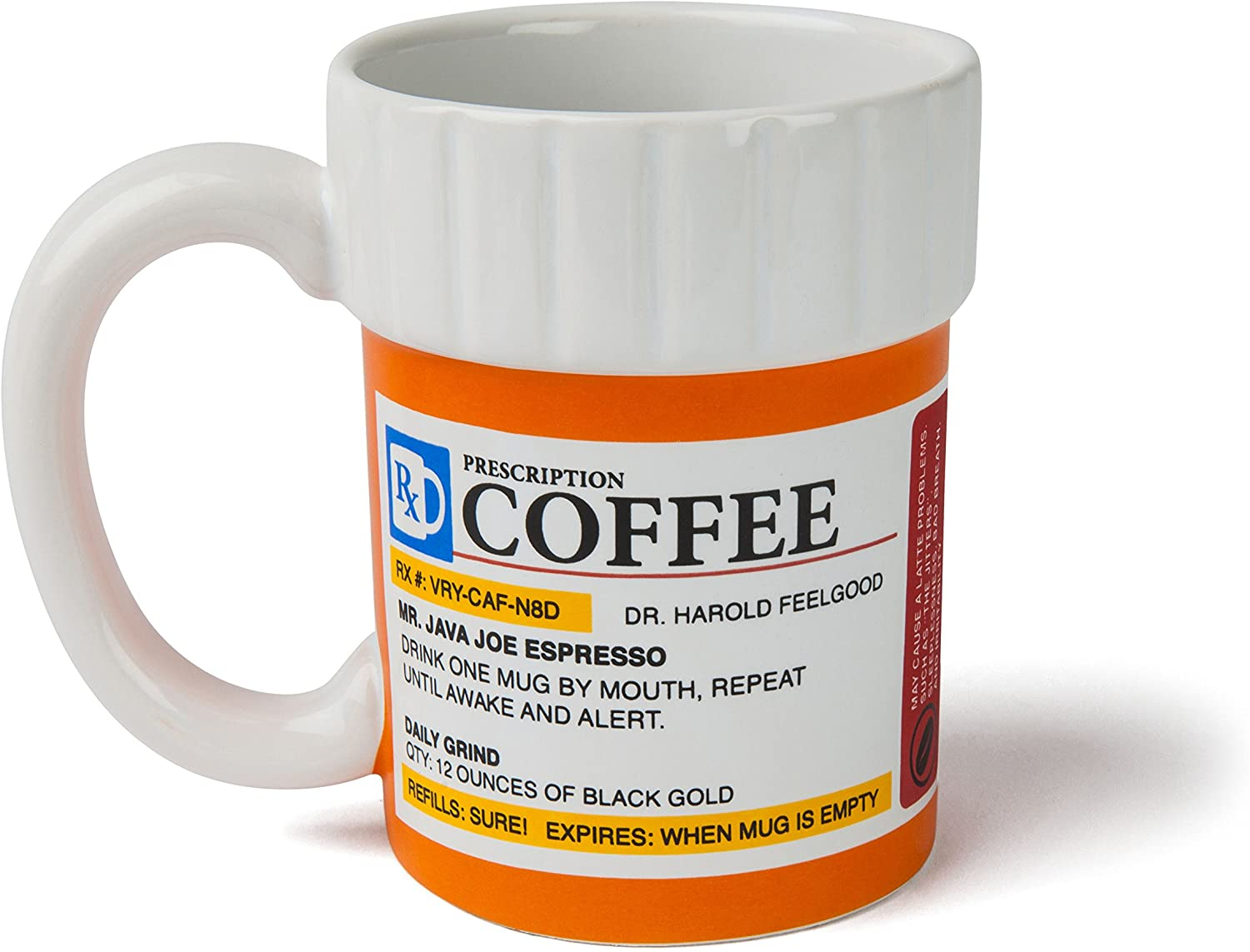 BigMouth Inc prescription coffee mug