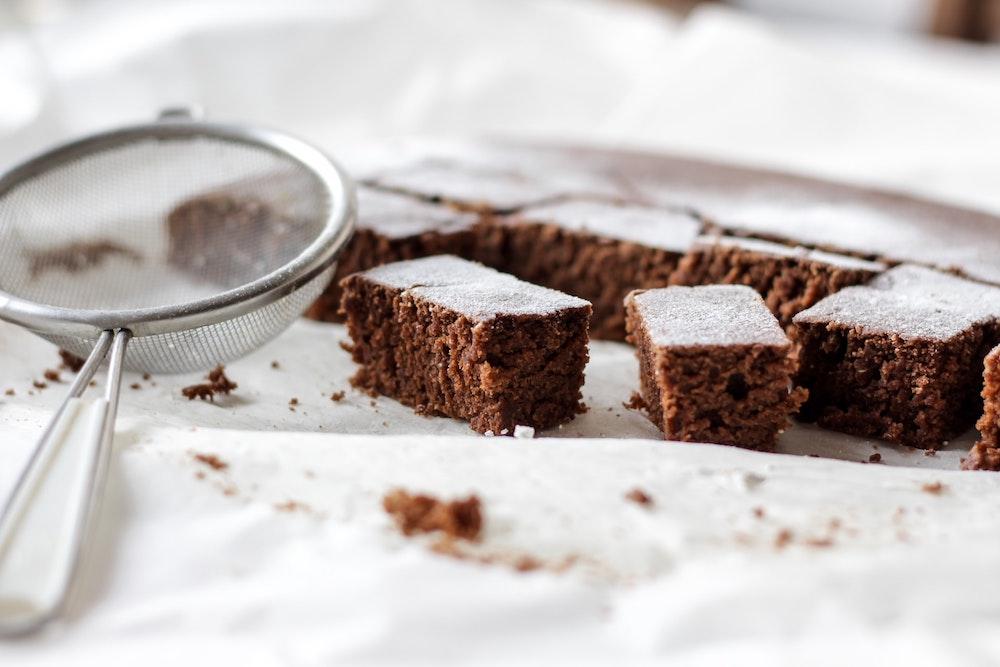 Brownies with espresso powder