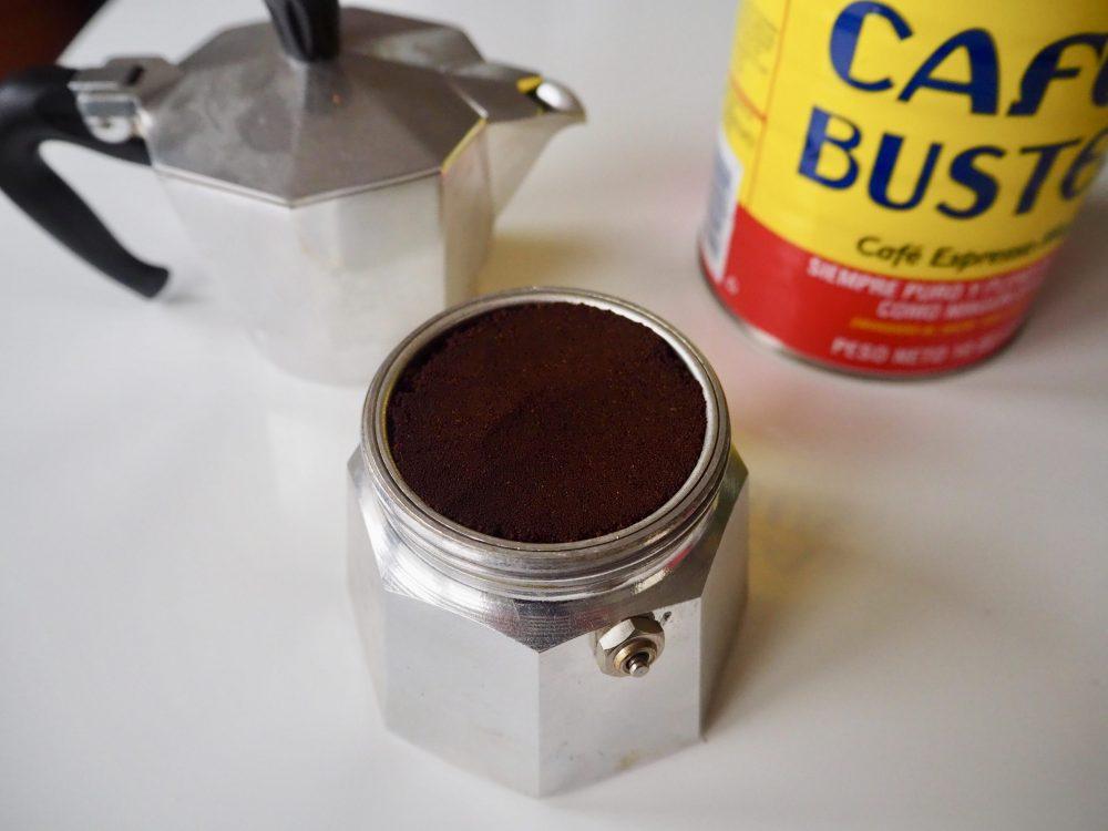Café Cubano Moka pot
