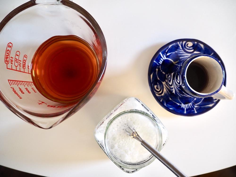 Dirty chai latte ingredients