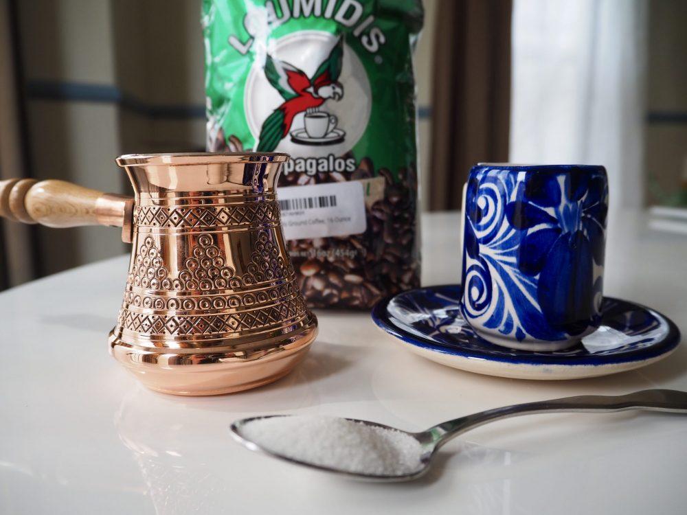 Greek coffee ingredients