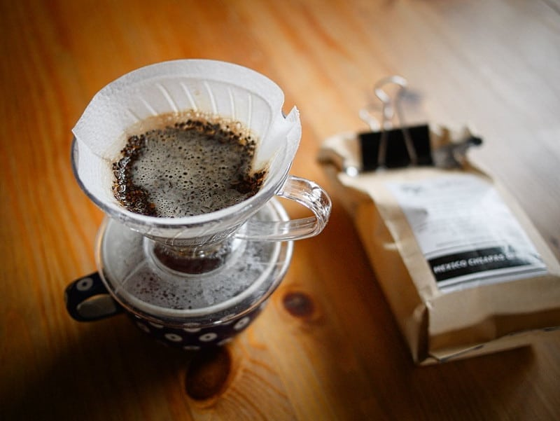 Hario V60 specialty pour over coffee maker