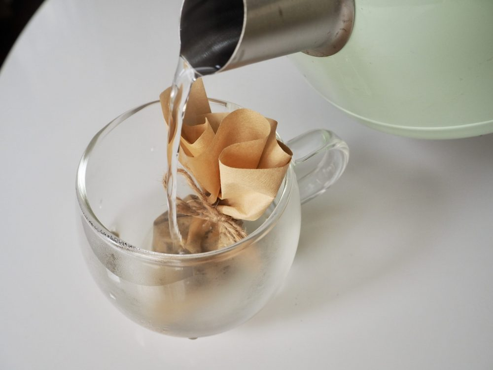 Homemade coffee bag