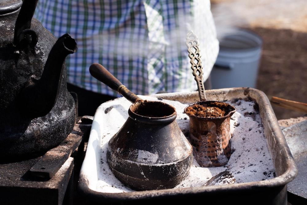 How to make Greek coffee